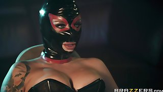 sexy and costumed Ivy Lebelle adores sex offbeat games with a friend