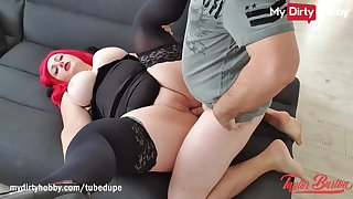 MyDirtyHobby - PAWG babegets her big natural tits unperceived incum