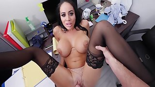 Busty Whore Just about Office Action - Victoria June