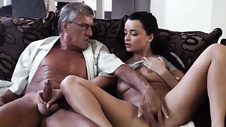 Old couple coupled with girl hidden cam What would you strike -