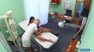 Nympho Nurse Gives Special Exam